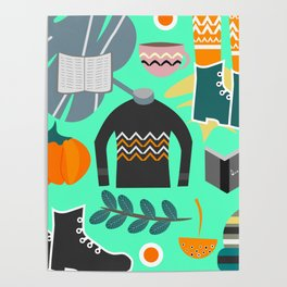 Ready for winter Poster