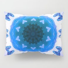 All things with wings (blue) Pillow Sham