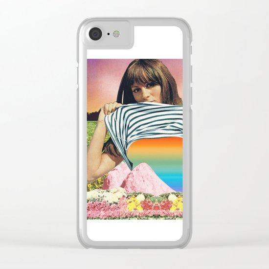 Internal Rainbow II Clear iPhone Case