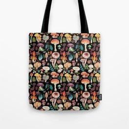 Mushroom heart Tote Bag