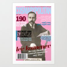 COSMARXPOLITAN, Issue 11 Art Print