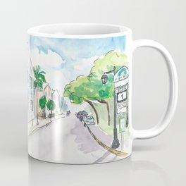 Mile 0 Marker Key West - Sunny Whitehead Street Coffee Mug