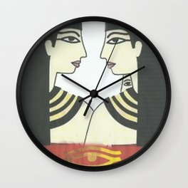 love to wuman Wall Clock