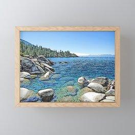 Lake Tahoe Framed Mini Art Print
