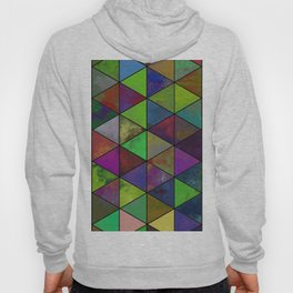 Textured Triangulation - Abstract, geometric triangles Hoody
