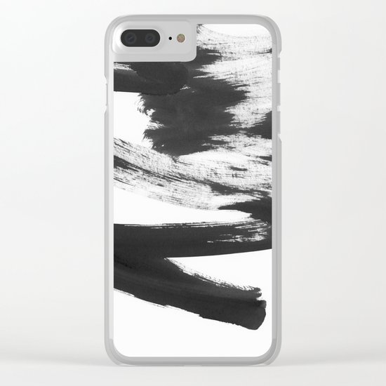 b+w strokes 5 Clear iPhone Case