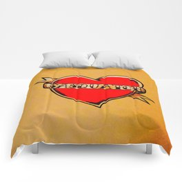 My Heart Belongs to Sasquatch Comforters