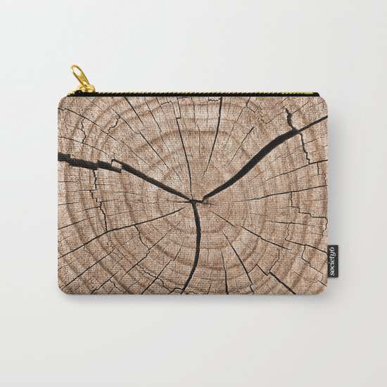 Tree Trunk Carry-All Pouch