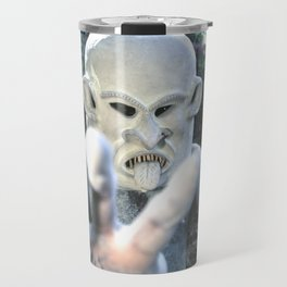 Papua New Guinea Ghost Travel Mug