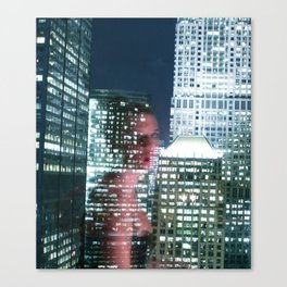 City Reflection Canvas Print