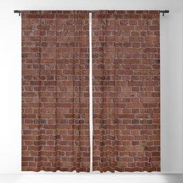 Brooklyn NYC Loft Apartment Brown Stone Brick Wall Blackout Curtain
