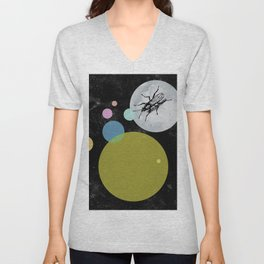 Moonwalking Unisex V-Neck