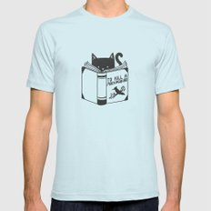 To Kill a Mockingbird Light Blue MEDIUM Mens Fitted Tee