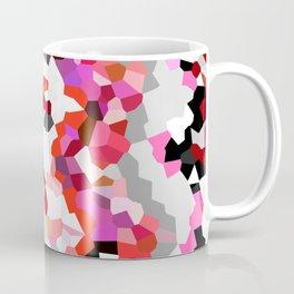 American Heart - Geometric Abstract Coffee Mug