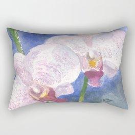 Orchid Gaze Rectangular Pillow
