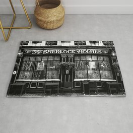 The Sherlock Holmes Pub London Rug