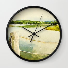 Somes Sound, Maine Wall Clock