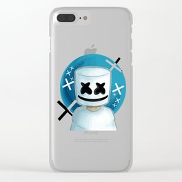 marshmello vectorized Clear iPhone Case
