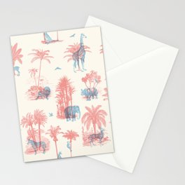 Where they Belong - Pastel Colors Stationery Cards