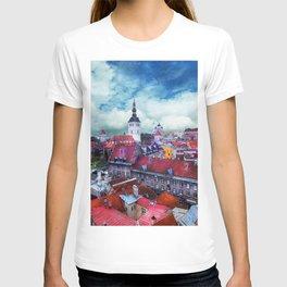 Tallinn art 3 #tallinn #city T-shirt