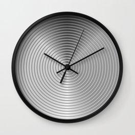 energetic black Wall Clock