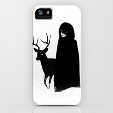 Absentia in white iPhone (5, 5s) Slim Case