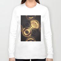 urban Long Sleeve T-shirts featuring urban by Patrick Cazer
