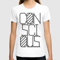 techno T-shirts featuring Techno by Conscious Panda