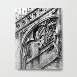 Stone Frames Metal Print