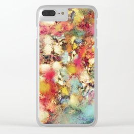 Breaking point Clear iPhone Case