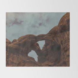 Arches Throw Blanket