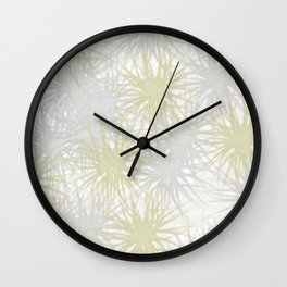 Silver or Gold Wall Clock