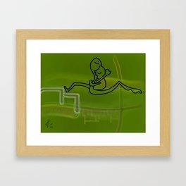 Biological Love Framed Art Print