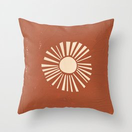 BOHO Sun Throw Pillow