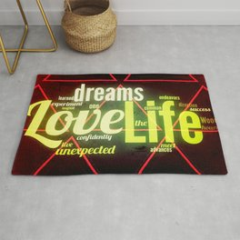 LIFE IN THE WOODS Rug
