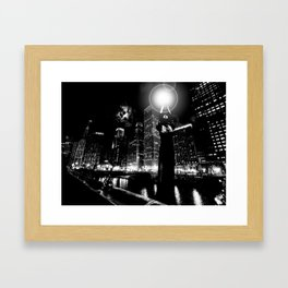 Millenium Mile Framed Art Print