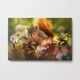 You Foxy Thing Metal Print