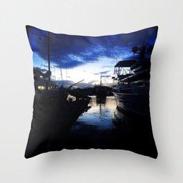 Let your dreams set sail Throw Pillow