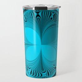Blue Tile Travel Mug