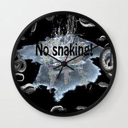 No snaking! Wall Clock