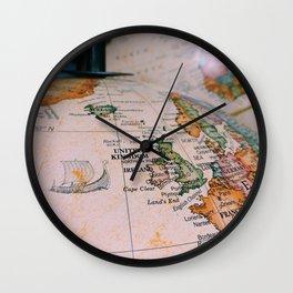 sail. Wall Clock