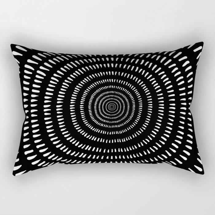 Fjorn black Rectangular Pillow