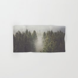 My misty way - Landscape and Nature Photography Hand & Bath Towel