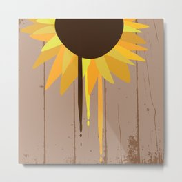 Raining Sunshine Metal Print
