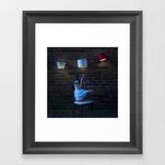 Dreaming... Framed Art Print