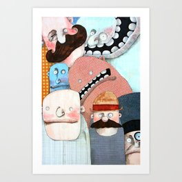 Work Photo Art Print