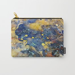 When Planets Align watercolor abstract by CheyAnne Sexton Carry-All Pouch