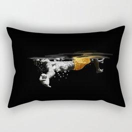 Black Water II Rectangular Pillow