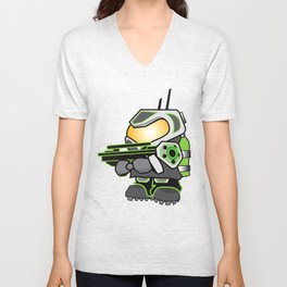 Mini Halo Derivative Unisex V-Neck