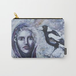 Sacred Messengers Whispering Carry-All Pouch